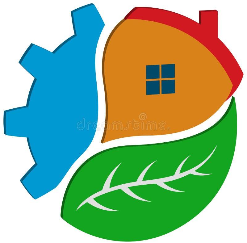 Logotipo da agricultura ilustração stock