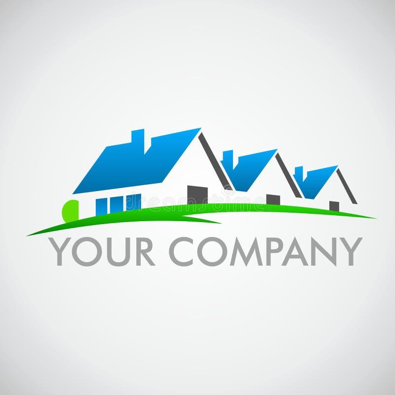 Logotipo da casa foto de stock