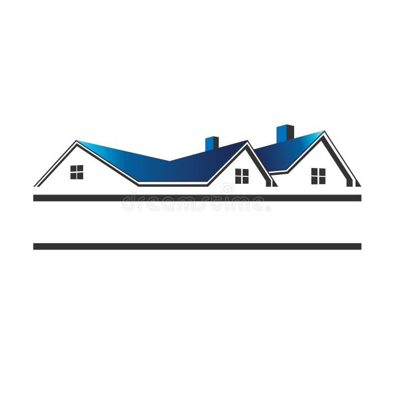 Logotipo da casa ilustração royalty free