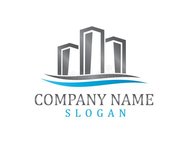 Logotipo da cidade ilustração royalty free