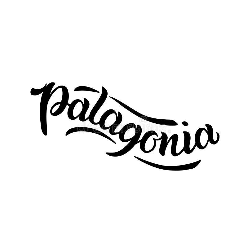 Logotipo da cidade isolado no branco Etiqueta ou logotype preto Caligrafia do crachá do vintage no estilo do grunge Grande para t ilustração stock