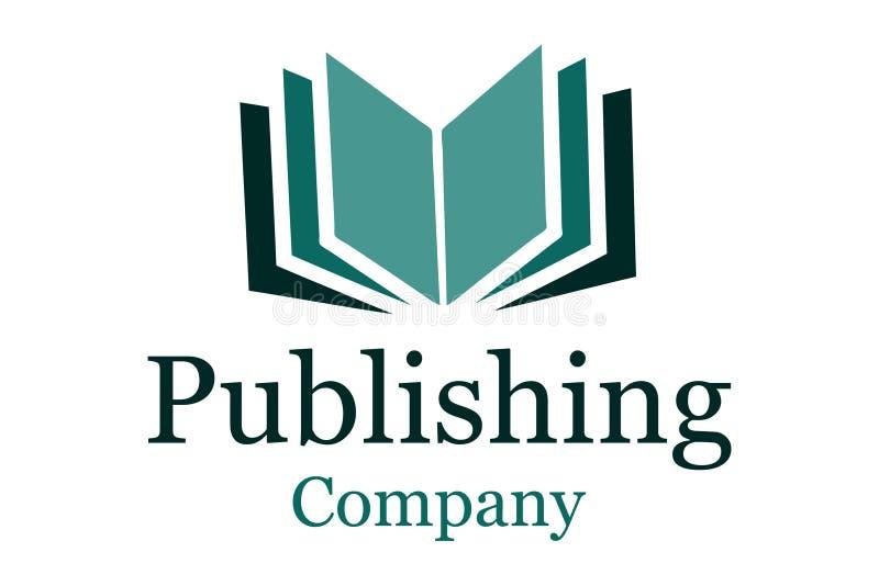 Logotipo da companhia de publicação ilustração royalty free
