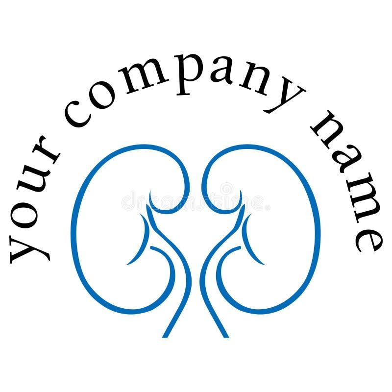 Logotipo da diálise ilustração royalty free
