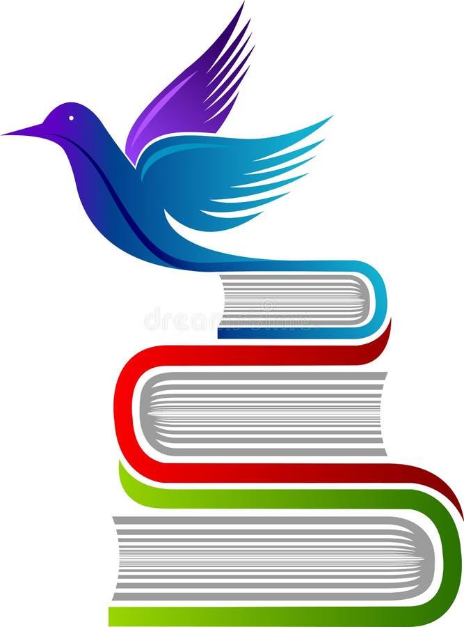 Logotipo da educação da liberdade ilustração royalty free