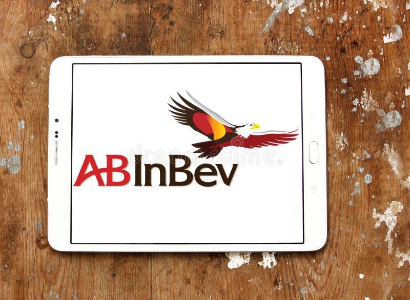 Logotipo da empresa da cerveja do AB InBev imagem de stock