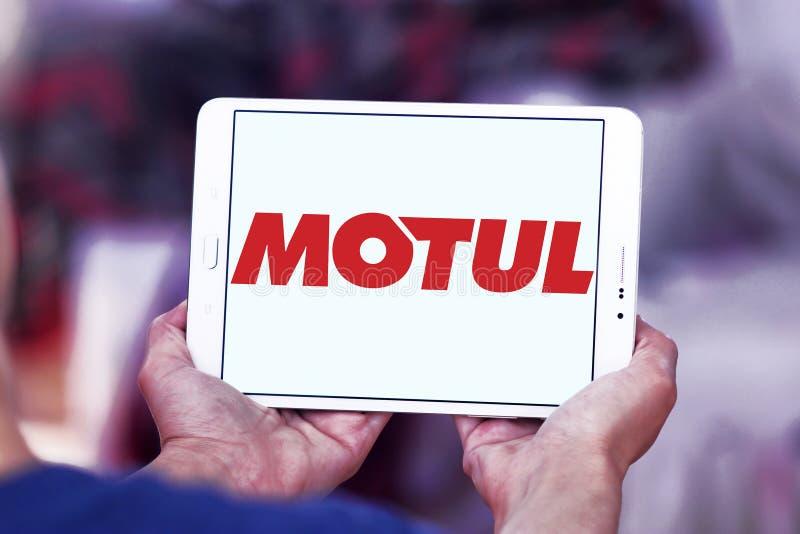 Logotipo da empresa de Motul imagem de stock
