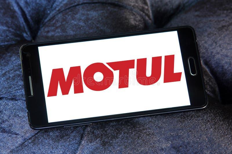 Logotipo da empresa de Motul fotos de stock royalty free