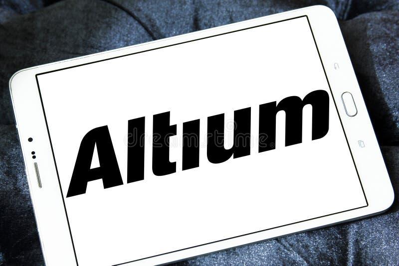 Logotipo da empresa de software de Altium fotos de stock