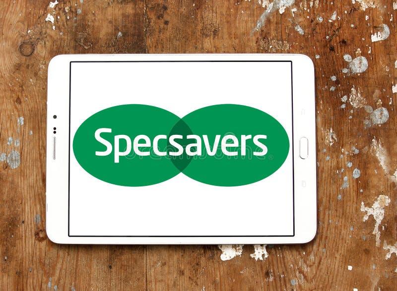 Logotipo da empresa de Specsavers imagens de stock royalty free