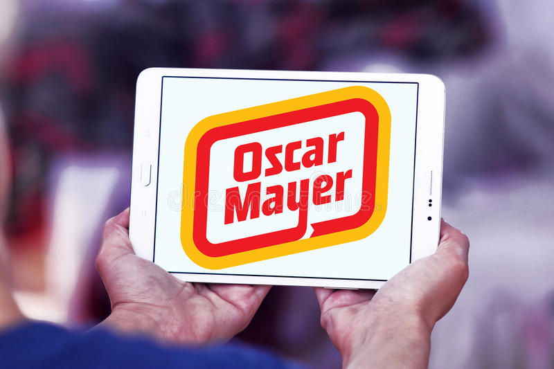 Logotipo da empresa do mayer de Oscar imagem de stock royalty free
