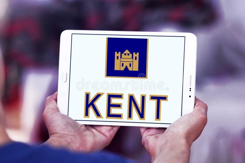 Logotipo da empresa dos cigarros de Kent fotos de stock royalty free