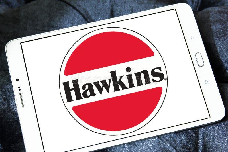 Logotipo da empresa dos fogões de Hawkins foto de stock royalty free