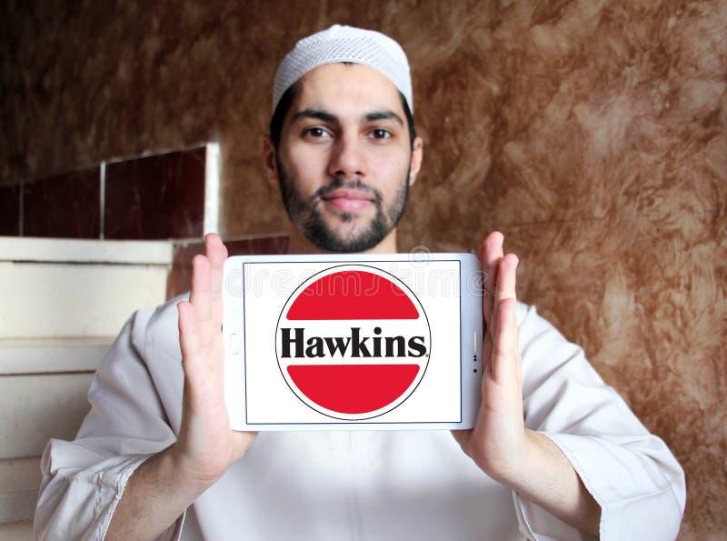 Logotipo da empresa dos fogões de Hawkins imagens de stock royalty free