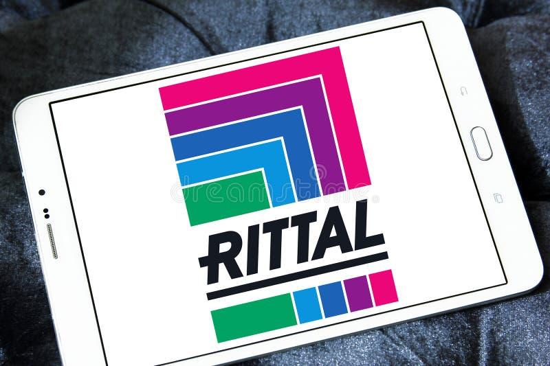 Logotipo da empresa da tecnologia de Rittal fotos de stock