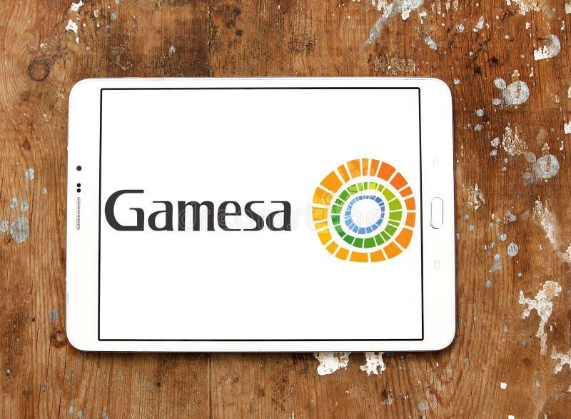 Logotipo da energia renovável de Siemens Gamesa foto de stock