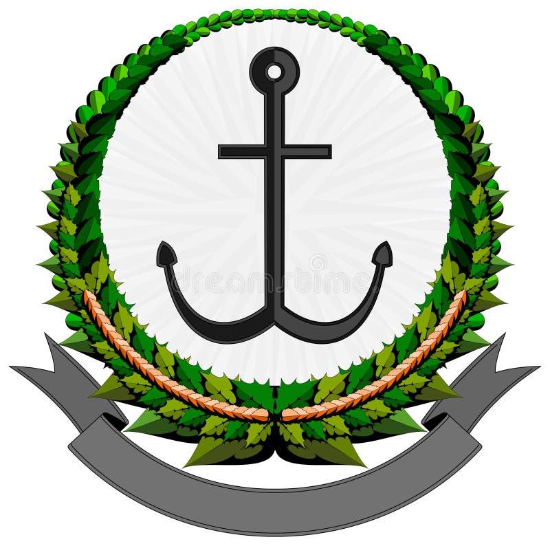 Logotipo da escora ilustração stock