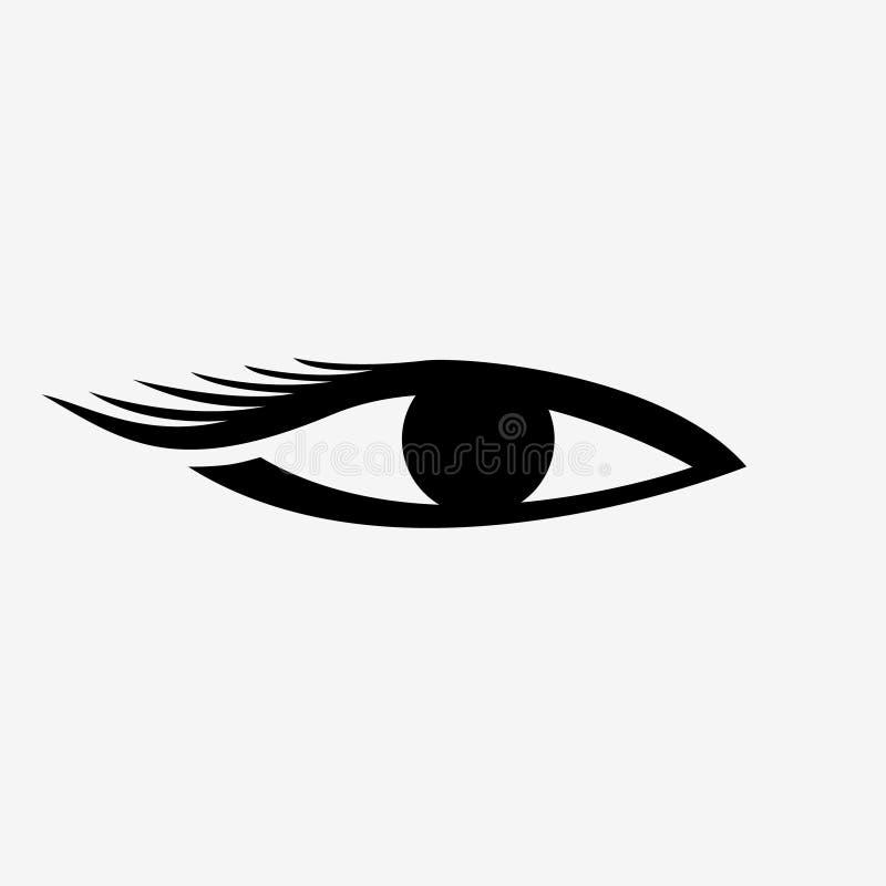 Logotipo da extensão da pestana ilustração royalty free