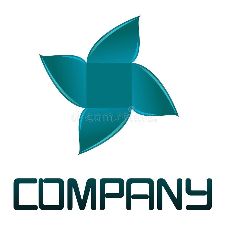 Logotipo da flor fotos de stock royalty free