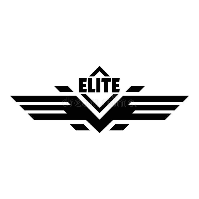 Logotipo da força da elite, estilo simples ilustração do vetor