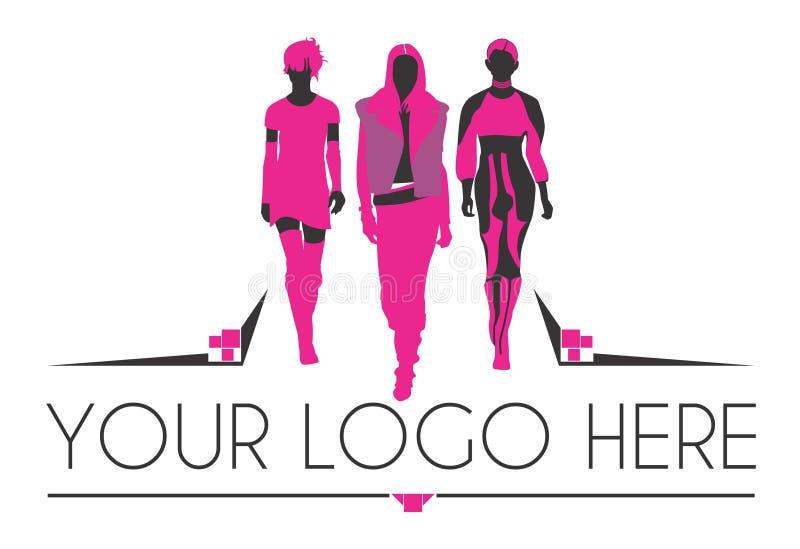 Logotipo da forma ilustração stock