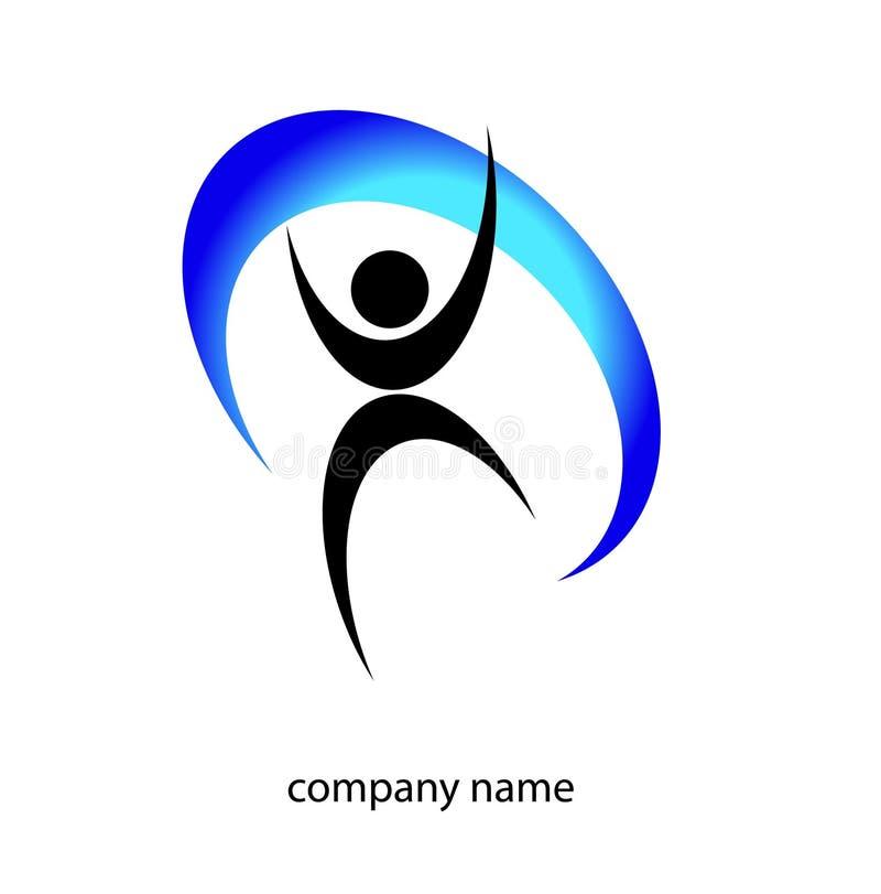 Logotipo da infância ilustração royalty free