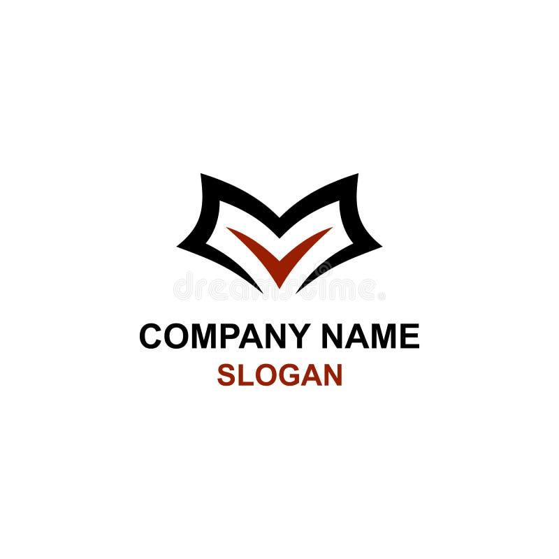 Logotipo da inicial da letra de E ilustração stock