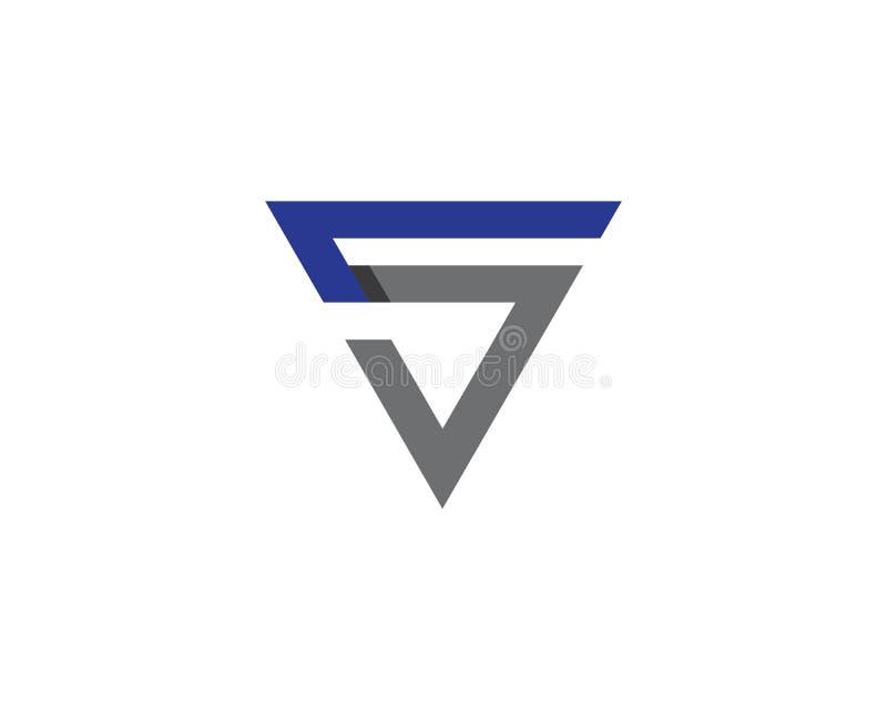 Logotipo da letra de S ilustração do vetor