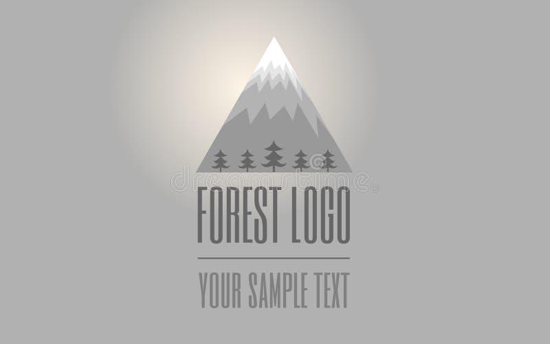 Logotipo da montanha fotos de stock royalty free