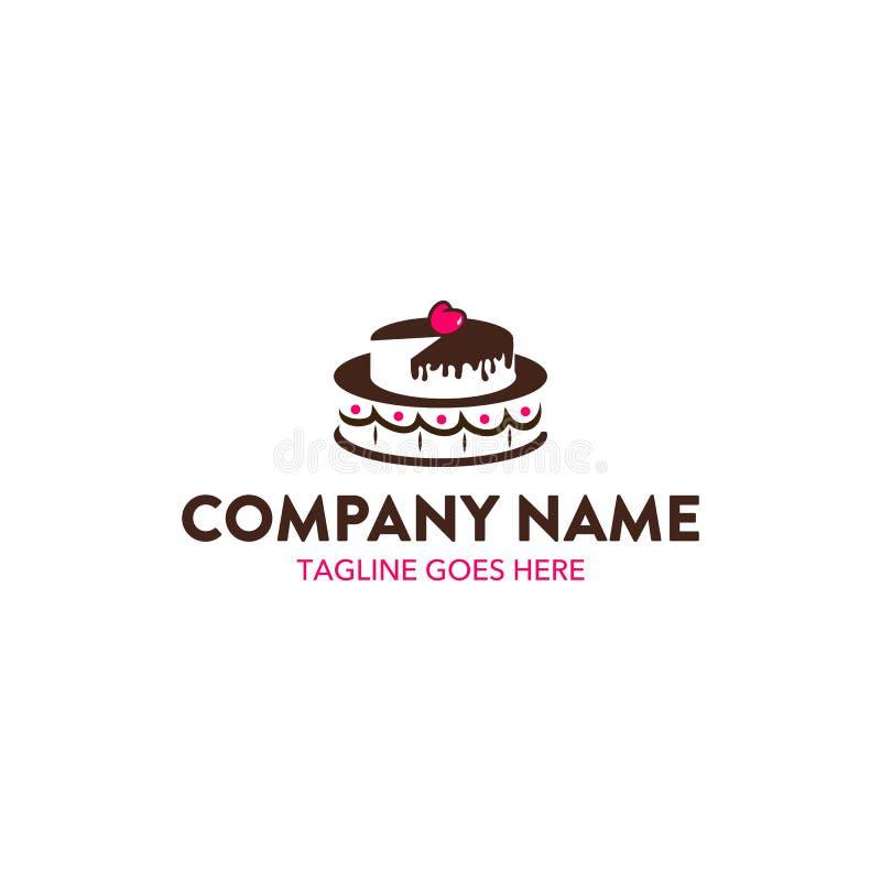 Logotipo da padaria ilustração royalty free