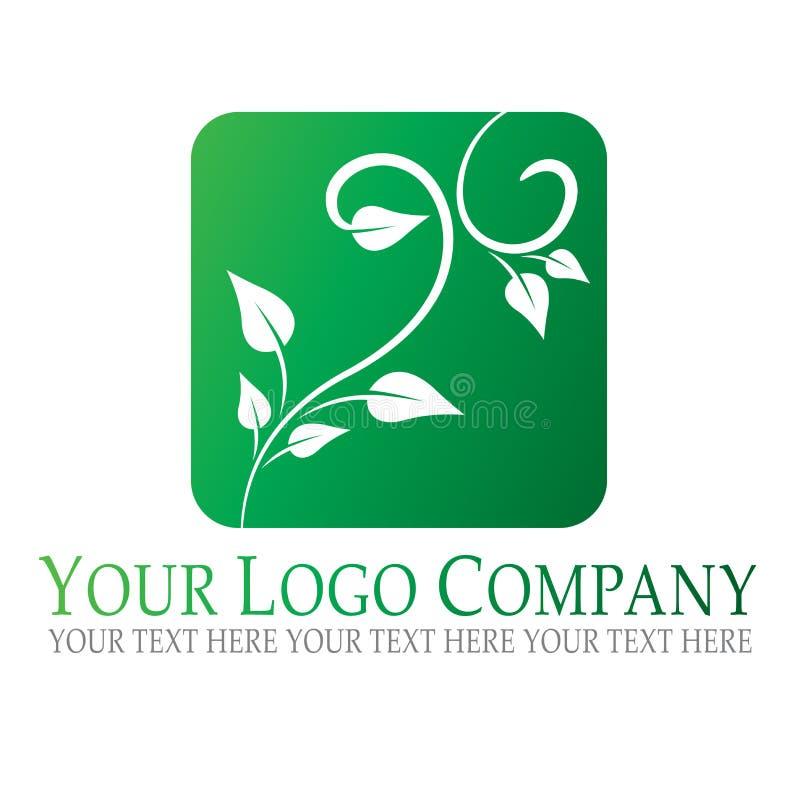 Logotipo da planta ilustração do vetor