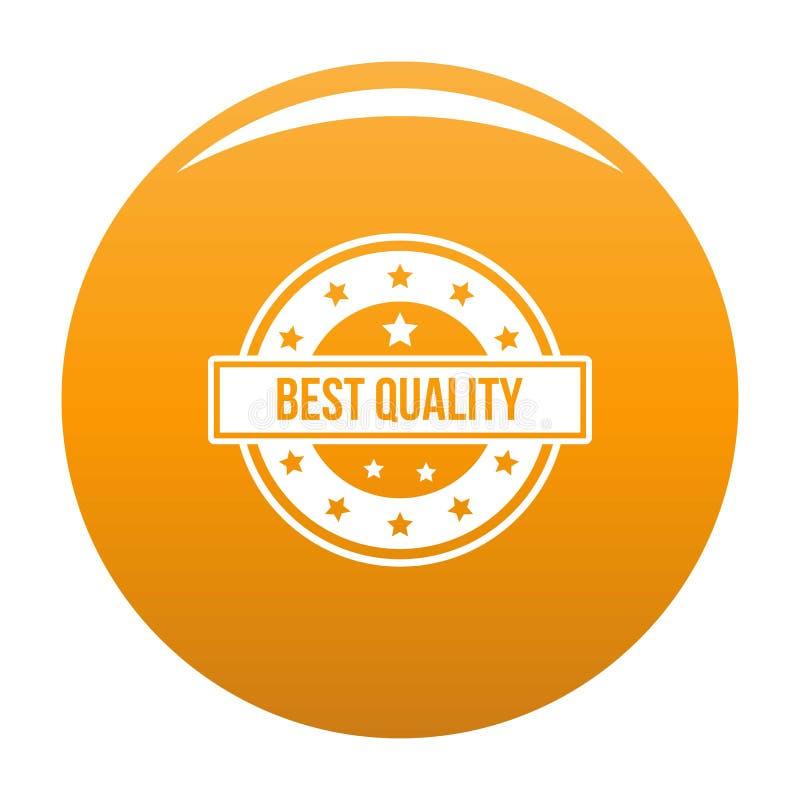 Logotipo da qualidade, estilo simples ilustração royalty free