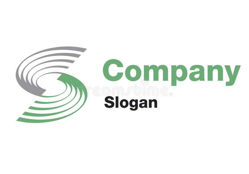 Logotipo da S-Companhia ilustração do vetor