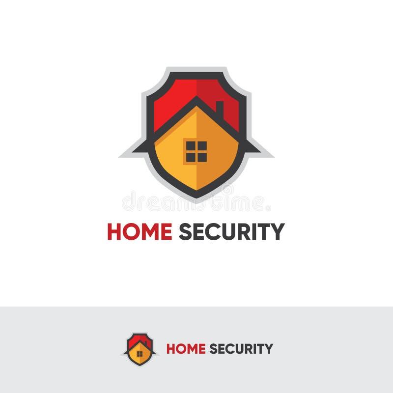 Logotipo da segurança interna ilustração stock