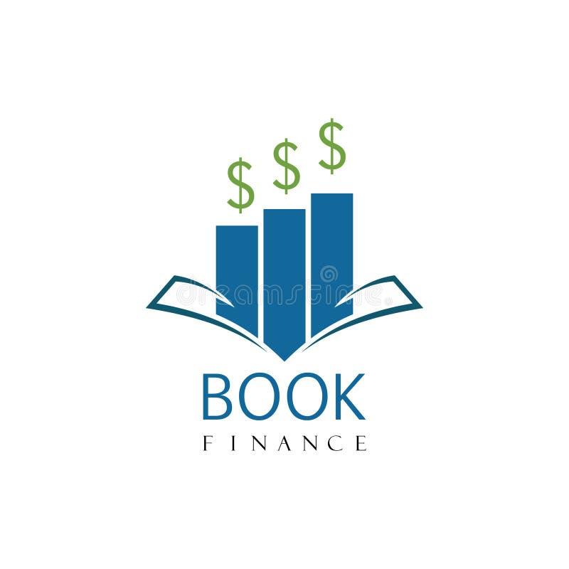 Logotipo da tecnologia digital do livro ilustração stock