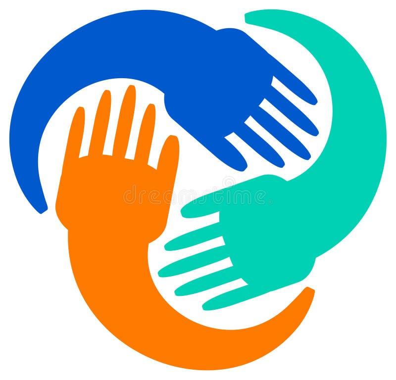 Logotipo da unidade ilustração stock