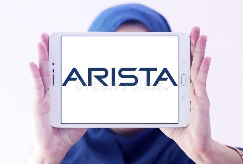 Logotipo das redes do Arista imagem de stock royalty free