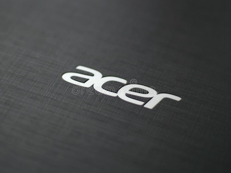 Logotipo de Acer fotografía de archivo libre de regalías