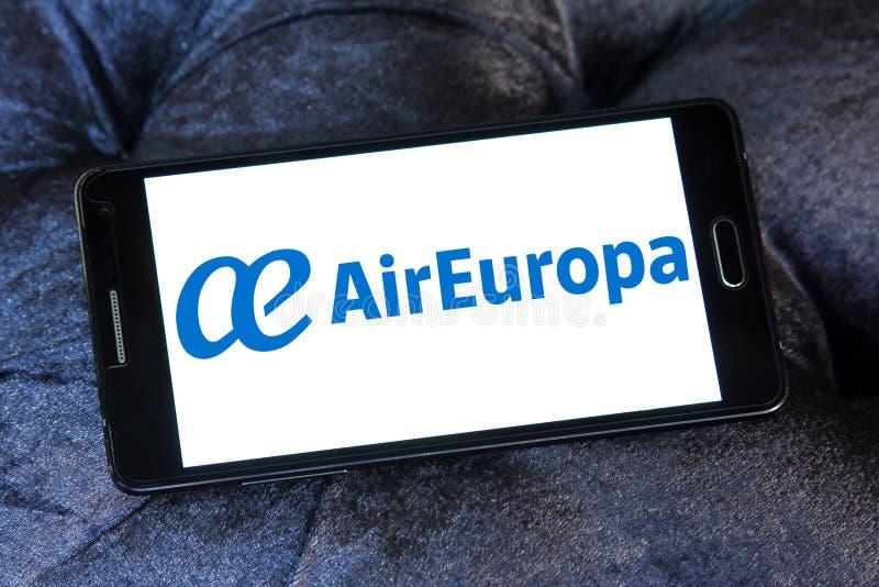 Logotipo de Air Europa foto de archivo