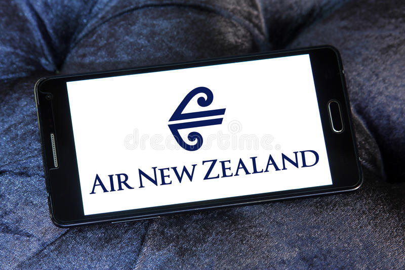Logotipo de Air New Zealand imagenes de archivo