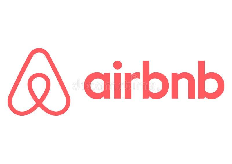 Logotipo de Airbnb ilustración del vector