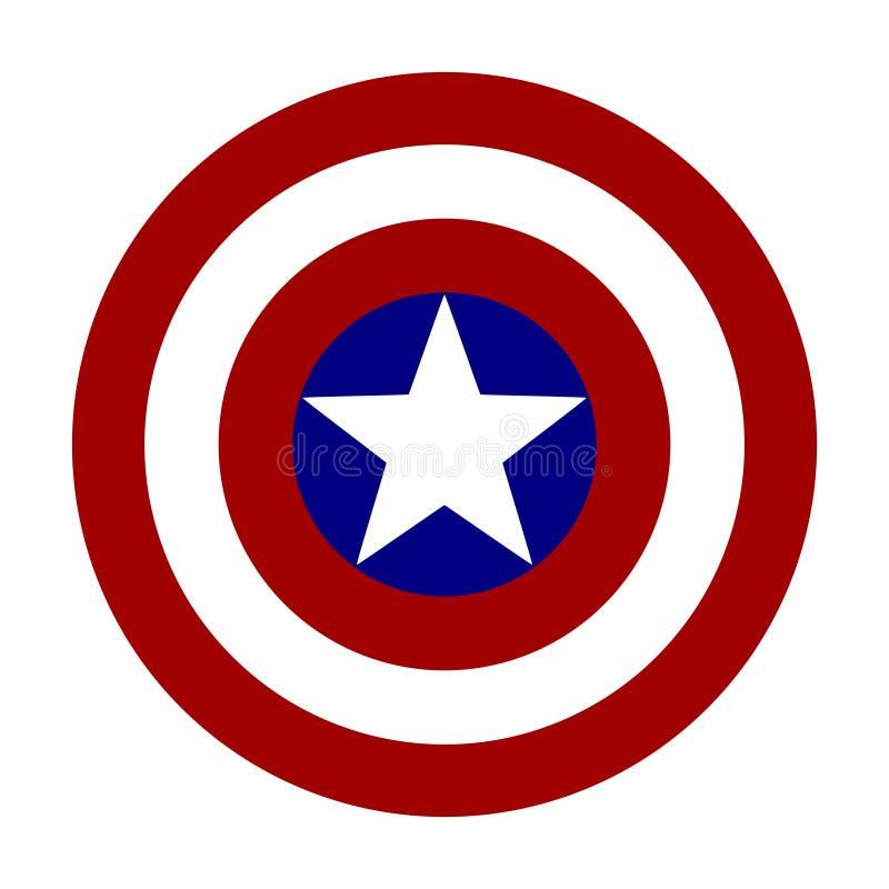 Logotipo de América ilustração stock