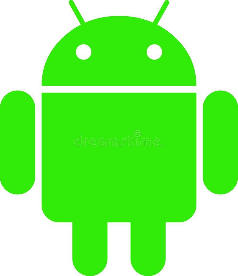 Logotipo de Android ilustração stock
