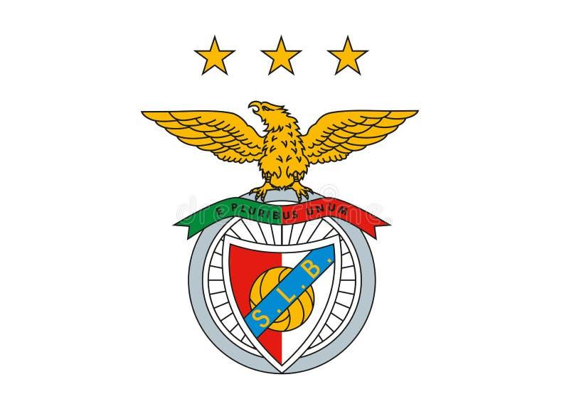 Logotipo de Benfica ilustração do vetor