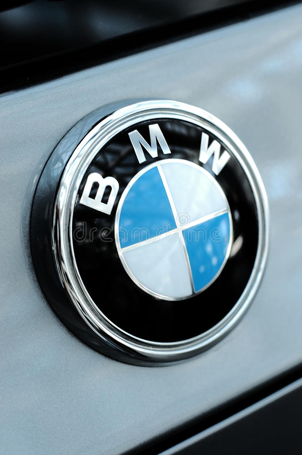 Logotipo de BMW fotos de stock
