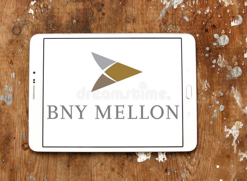 Logotipo de Bny mellon imagem de stock royalty free