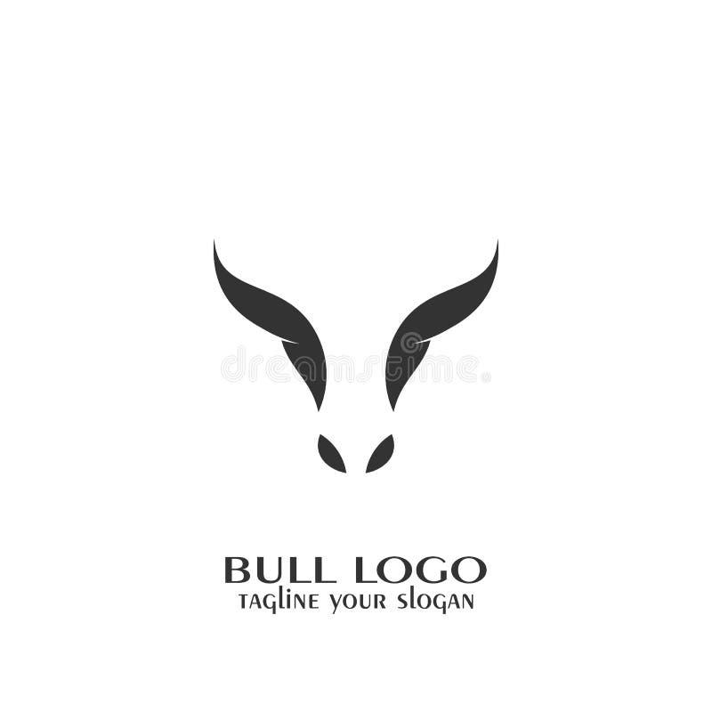 Logotipo de Bull ilustração stock