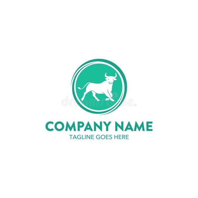 Logotipo de Bull ilustração do vetor