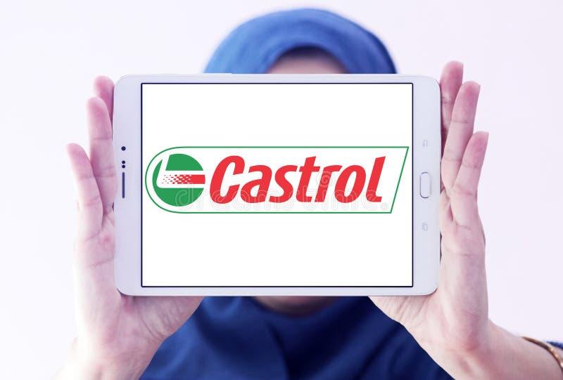 Logotipo de Castrol fotografia de stock royalty free