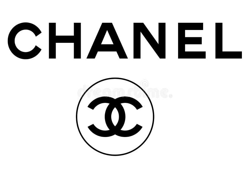 Logotipo de Chanel ilustração do vetor