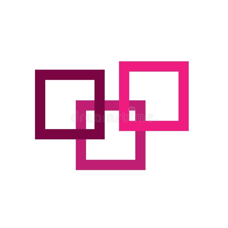 Logotipo de Colorido Empresa ilustração royalty free